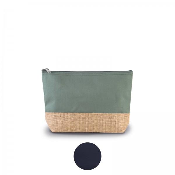 Baumwolltuch-Jute-Täschchen